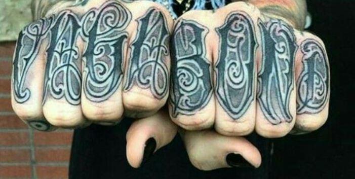Ghostemane hand tattoo