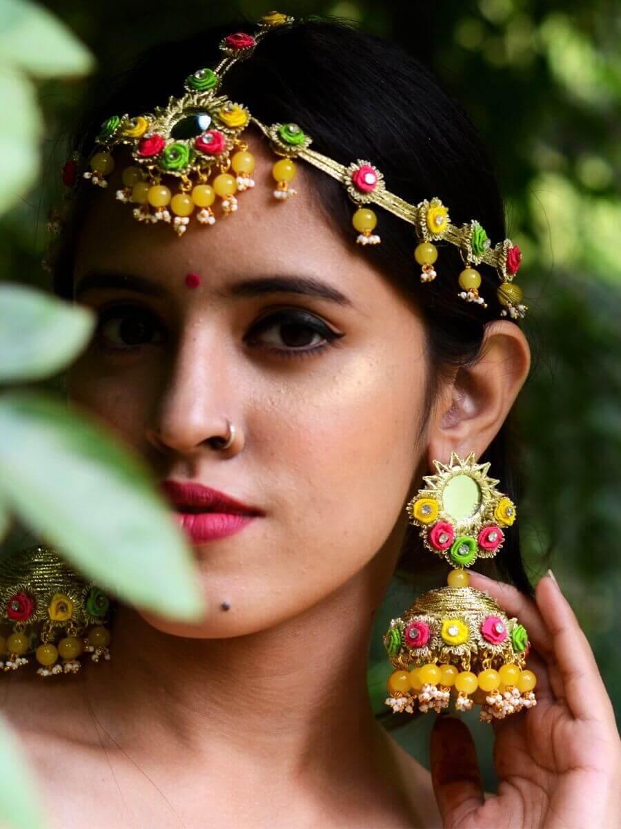 Haldi Jewelry Ideas