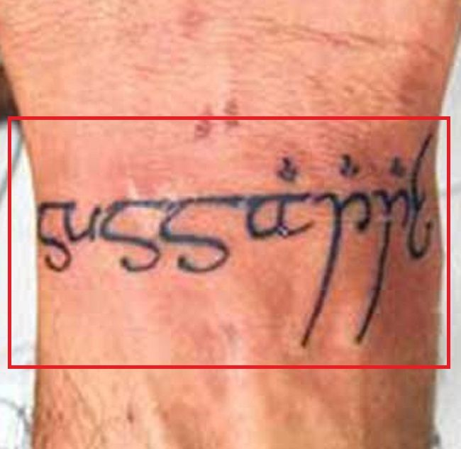 Hrithik Roshan-Sussanne-Tattoo