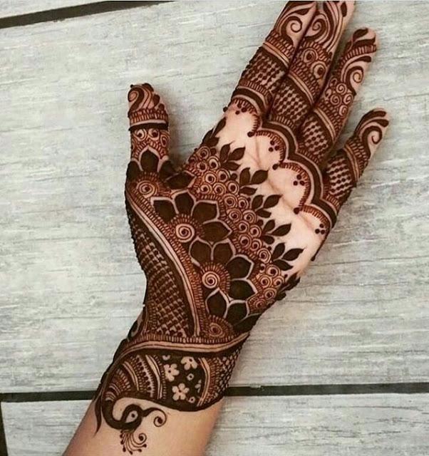 Indo Western mehandi