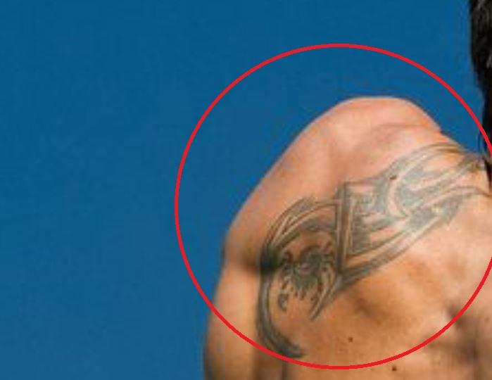 Janko shoulder tattoo