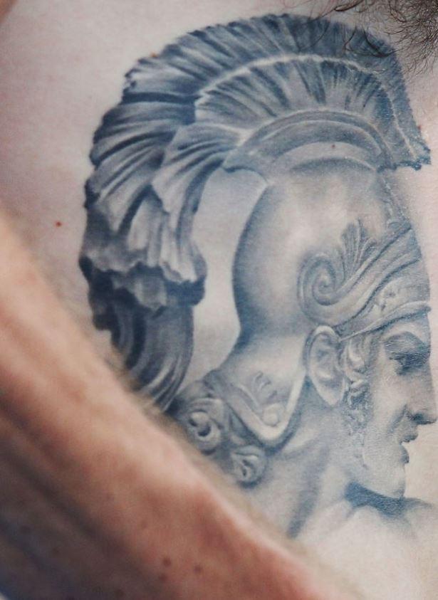 Liam bee tattoo