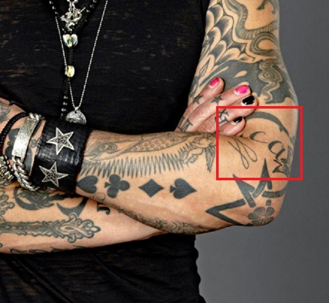 Luca Tattoo-Dave Navarro
