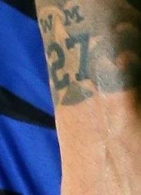 Mauro 27 tattoo