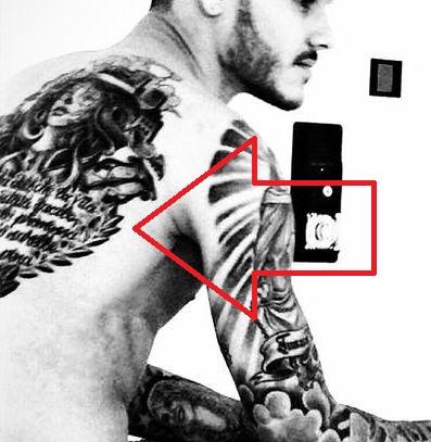 Mauro back tattoo