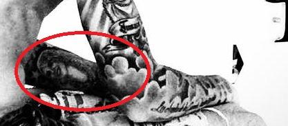 Mauro portrait tattoo