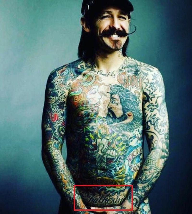Oliver Peck-Kat Von D-Tattoo