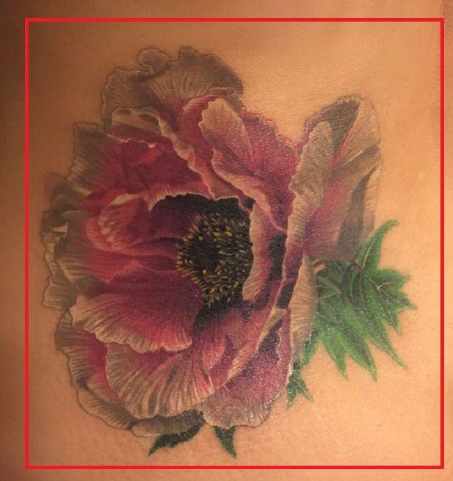 Peony Tattoo Shanna Moakler-Tattoo