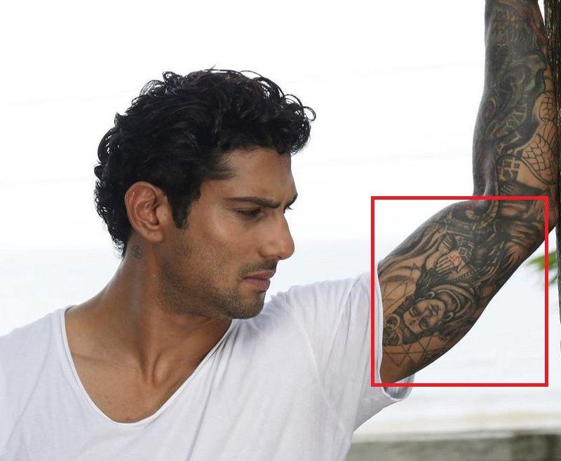 Prateik Babbar-Lord Shiva-Tattoo