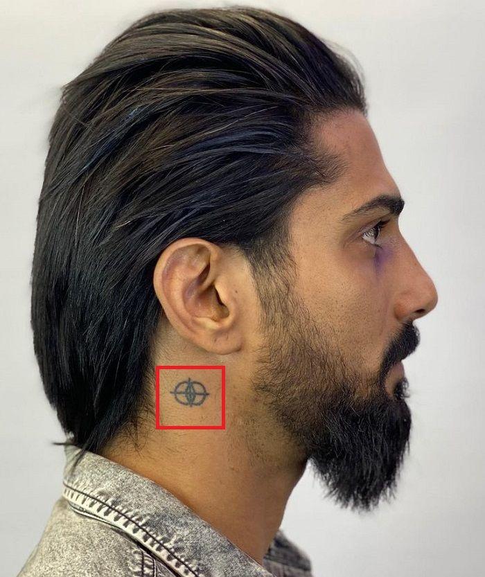 Prateik Babbar-Neck-Tattoo