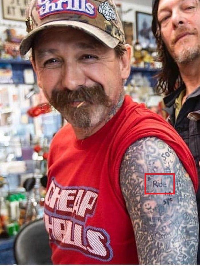 Ride tattoo oliver peck