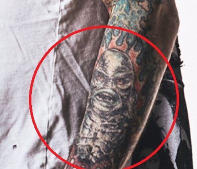 Rob left forearm tattoo