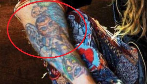 Rob right arm tattoo