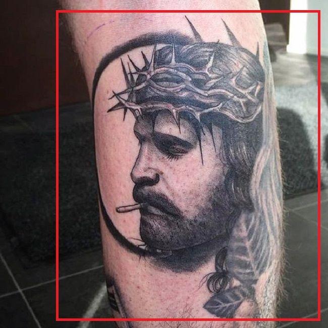 Robert Sandberg-Jesus-Tattoo