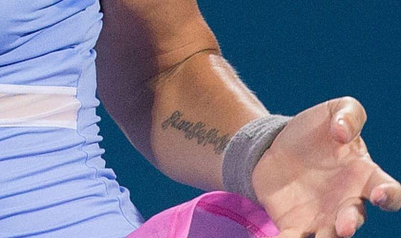 Svetlana left arm tattoo