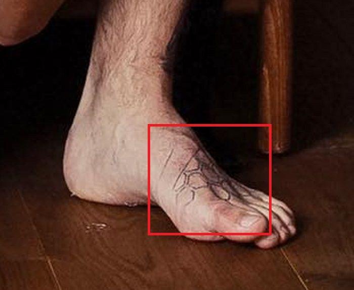 Tattoo Foot-Robert Sandberg