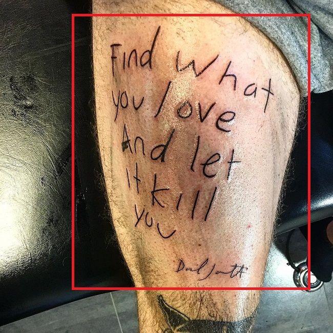Thigh Tattoo Robert-Sandberg