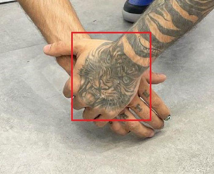 Tiger Tattoo-Prateik Babbar
