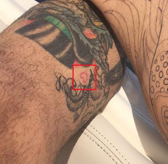 Tiny Heart Tattoo Chris Nunez