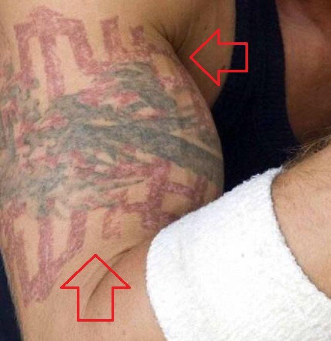 Tribal Tattoo-Cam Gigandet-Tattoo