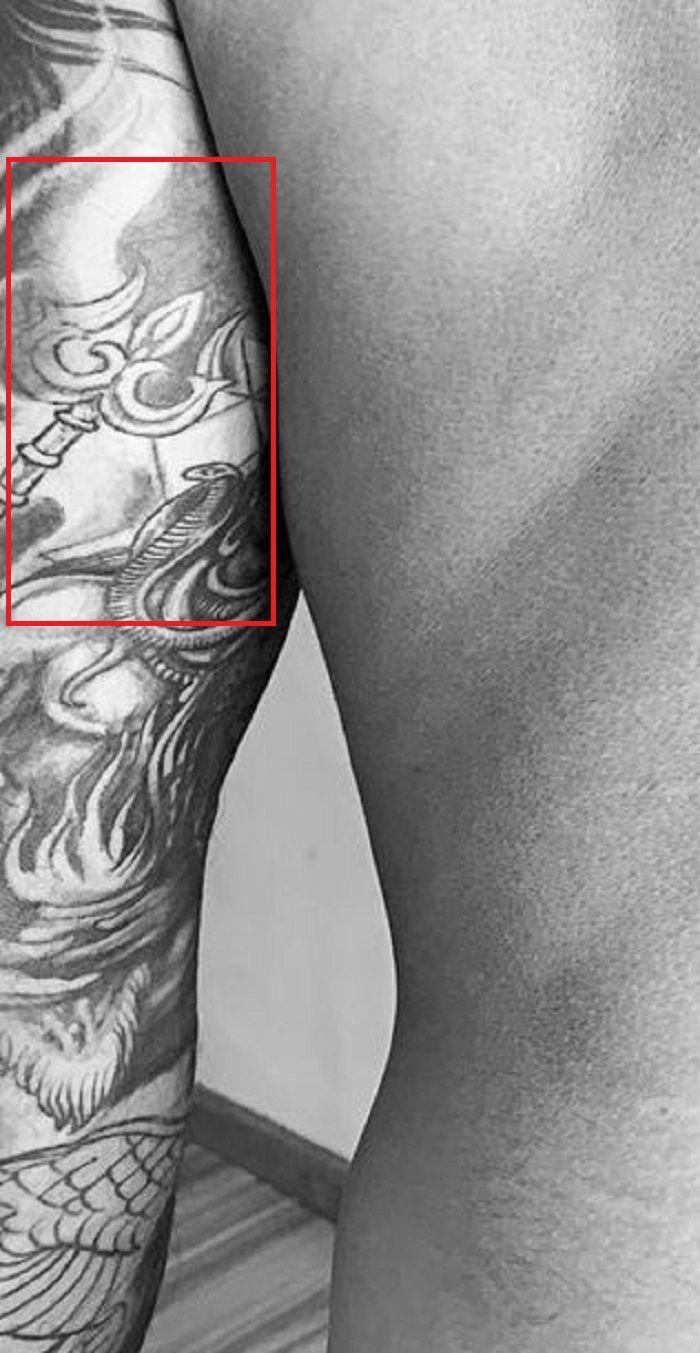 Trishul Tattoo-Prateik Babbar