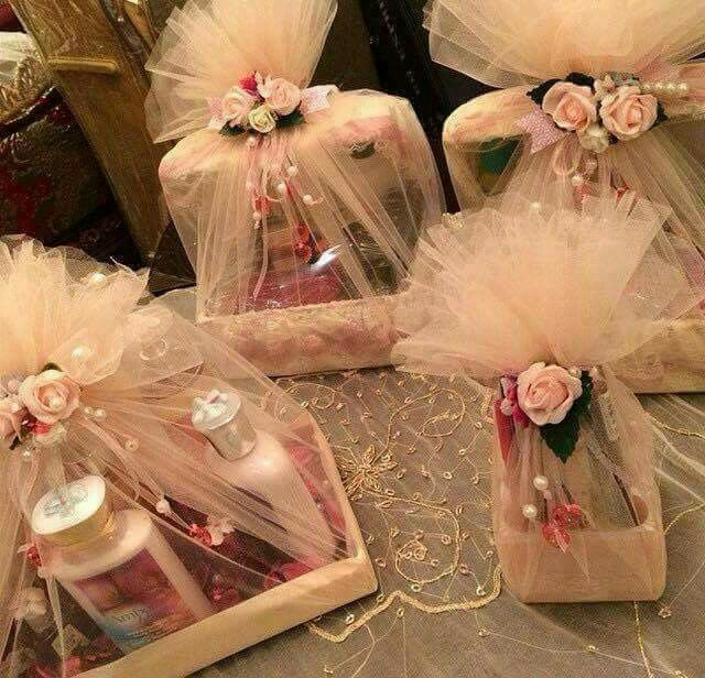 Trousseau Wrapping Ideas