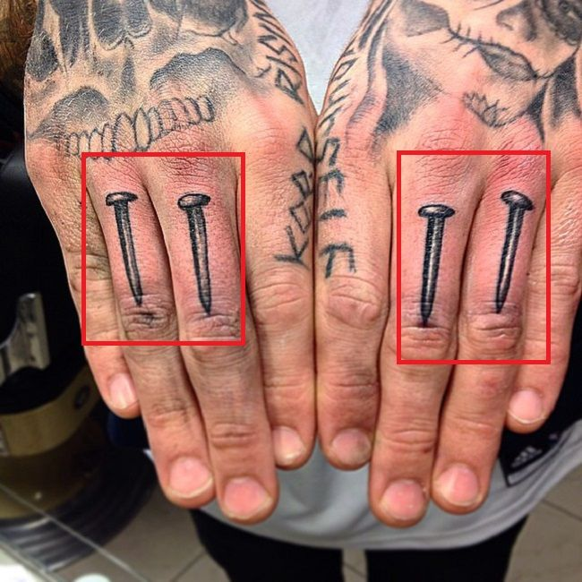 brutal nails-Robert Sandberg-Tattoo