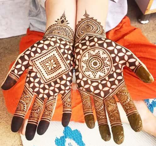gujarati mehandi designs