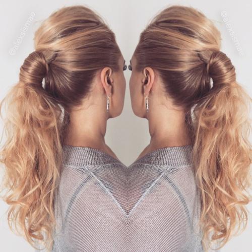 high ponytail designs