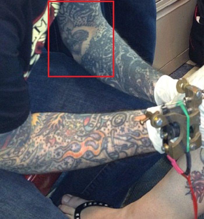 left forearm-tattoo-oliver peck