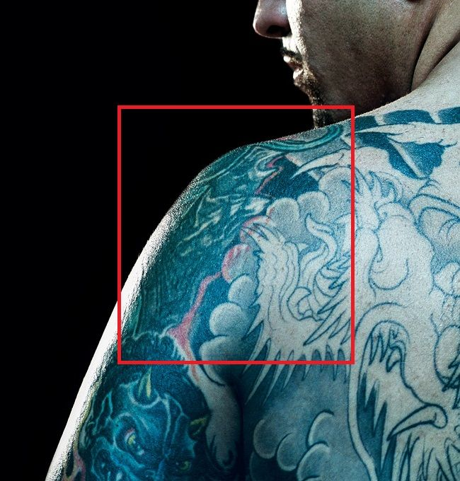 left shoulder tattoo-chris nunez