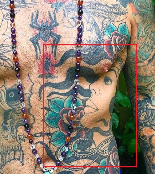 left torso tat chris nunez