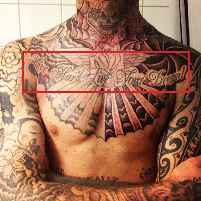 live hard live your dream-robert sandberg-tattoo