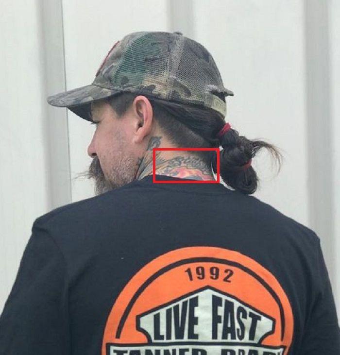 neck tattoo oliver