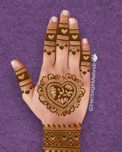 punjabi mehandi designs
