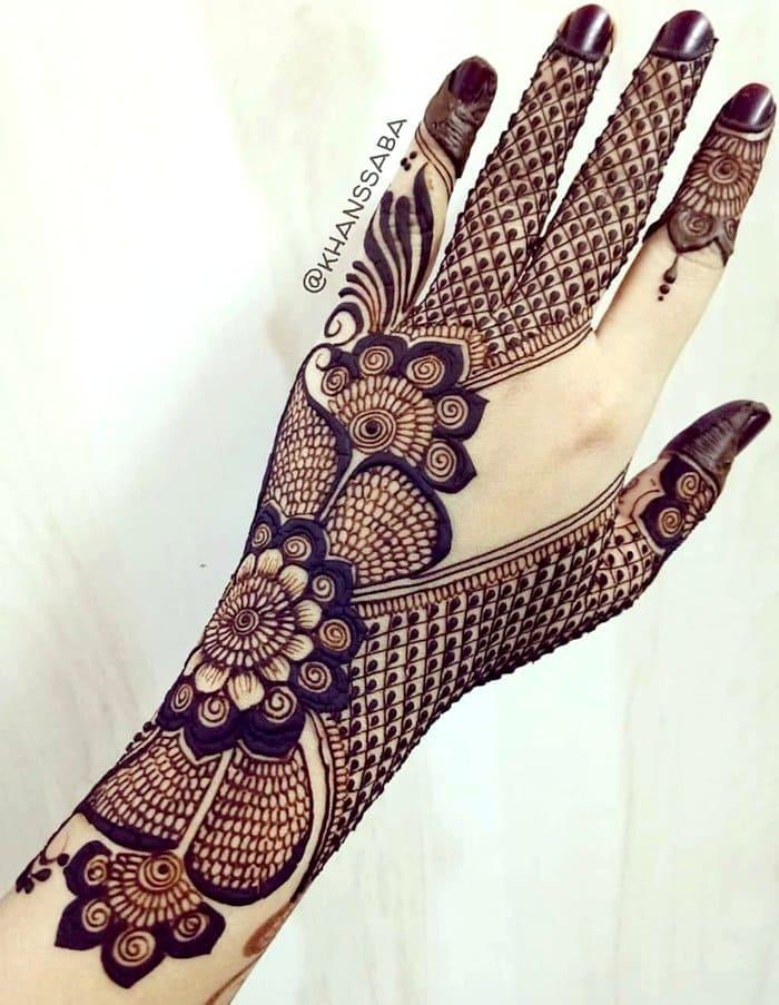 western mehndi designs