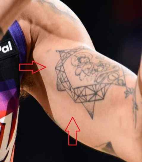 Abdel Nader buddha tattoo