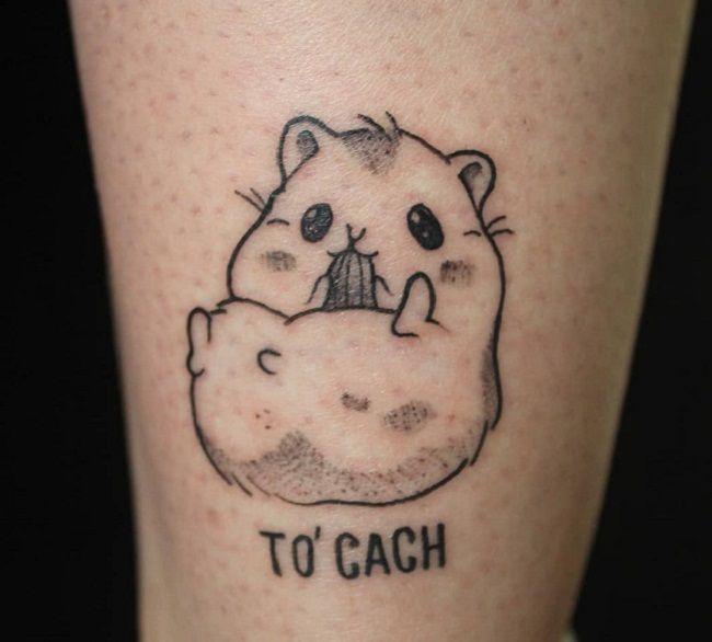 Baby Hamster Tattoo