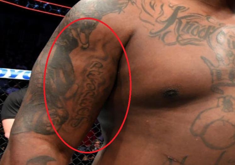 Derrick RESPECT Tattoo
