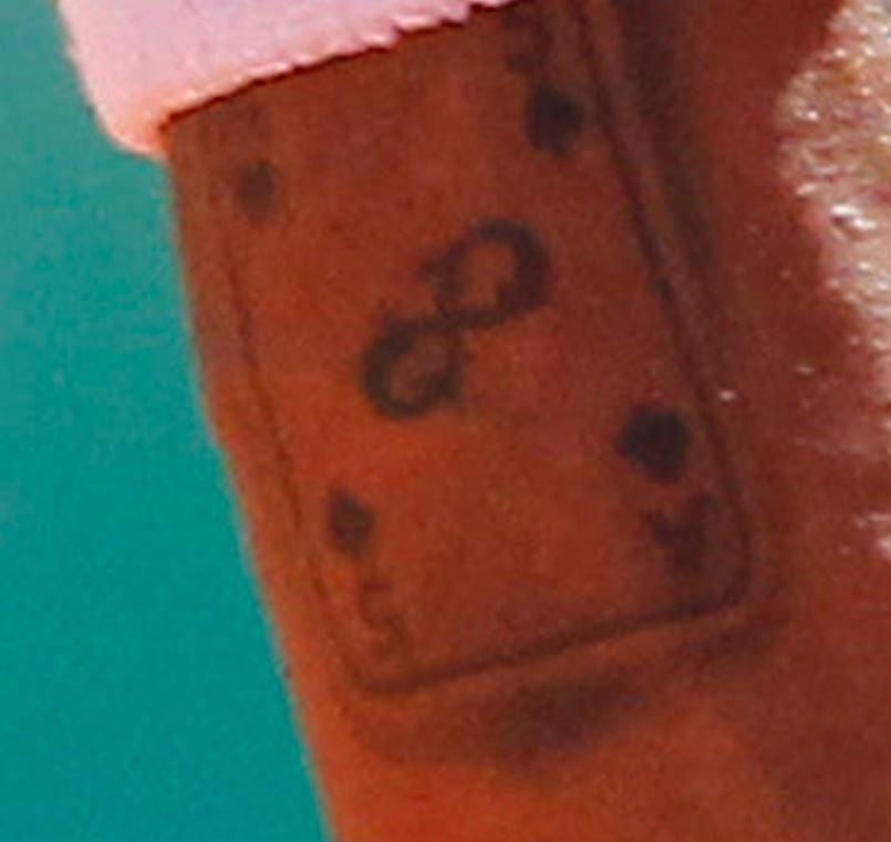 Gael ace card tattoo