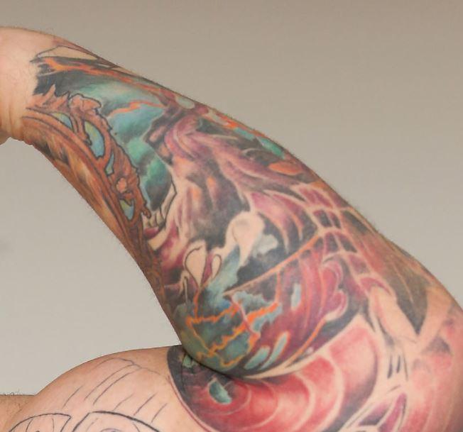 Hafpor dragons tattoo
