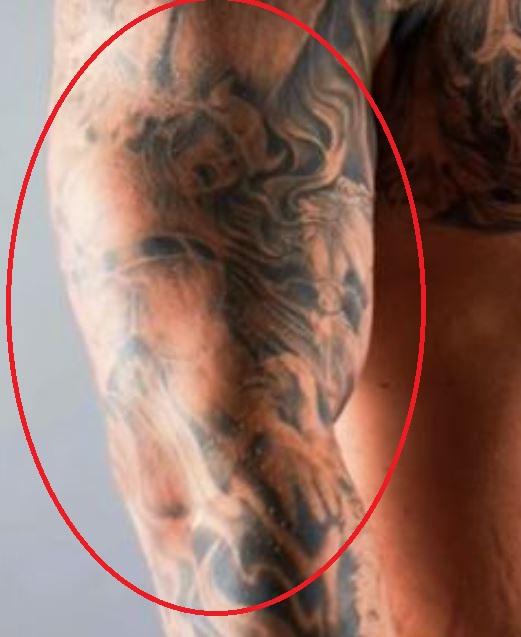 Hafpor thor fighting tattoo