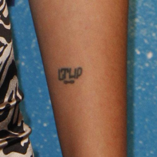 Jaimie name initials tattoo
