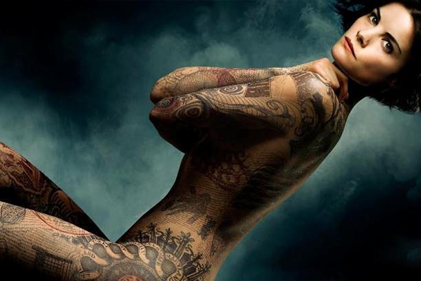 Jaimie fake body tattoos