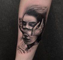 Kelsey right forearm tattoo