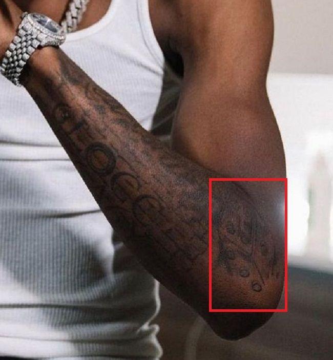 Lil Loaded Dice Tattoo