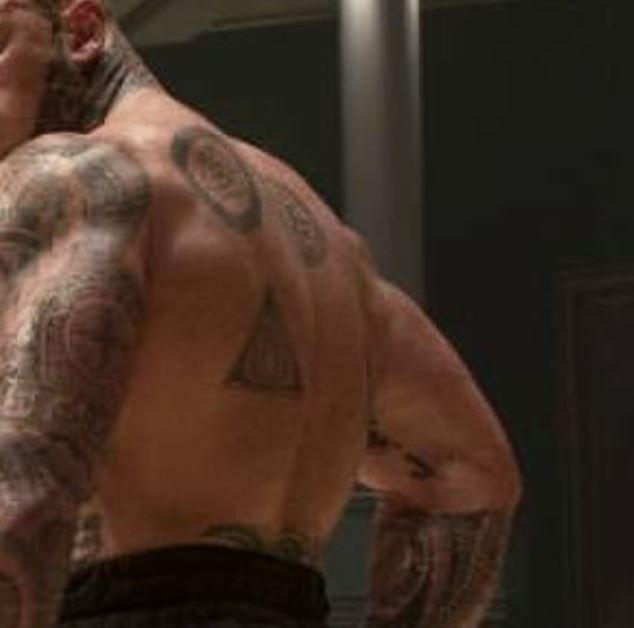 Martyn back tattoos