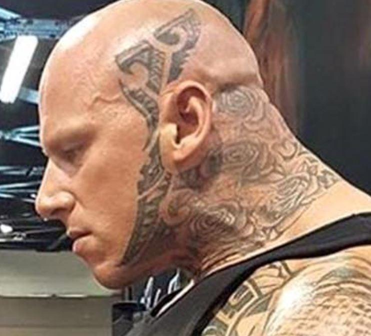 Martyn head tattoo
