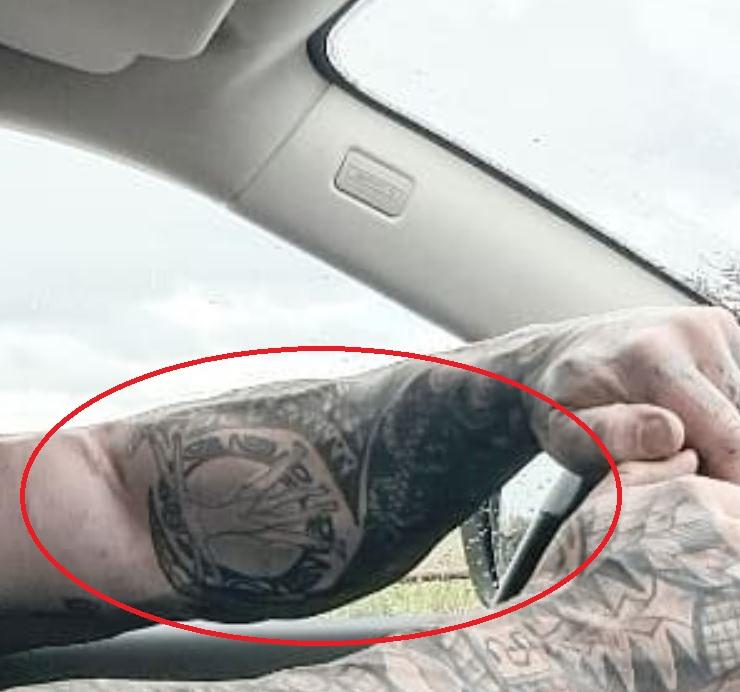 Martyn left inner arm tattoo