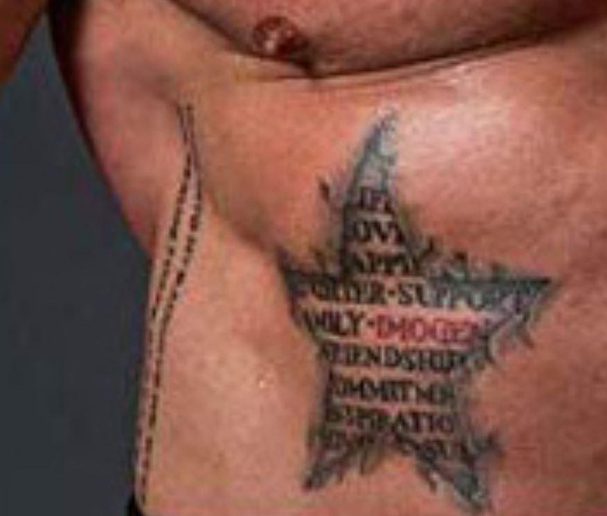 Martyn stomach qualities tattoo